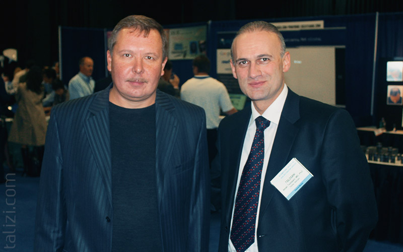 Photo: Leading Surgeon of RTH (Russia) Vasili Buianov and Akaki Tsilosani